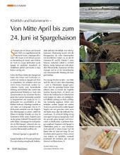 Im April startet die Spargelsaison: ECHT Oberfranken - Ausgabe 40