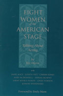Eight Women of the American Stage