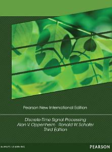 Discrete Time Signal Processing  Pearson New International Edition PDF