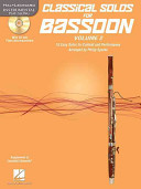 Classical Solos for Bassoon  Vol  2 PDF