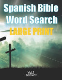 Spanish Bible Word Search Large Print Book PDF