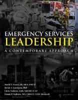 Emergency Services Leadership PDF