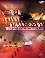 Motion Graphic Design PDF