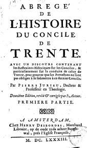 Abregé de l'histoire du Concile de Trente ...