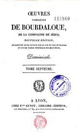 Oeuvres complètes de Bourdaloue