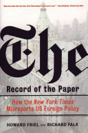 The Record of the Paper
