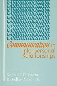 Communication in Interpersonal Relationships Book