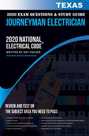 Texas 2020 Journeyman Electrician Exam Questions and Study Guide PDF