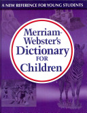 Merriam Webster s Dictionary for Children PDF