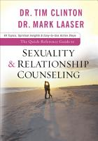 The Quick Reference Guide to Sexuality   Relationship Counseling PDF