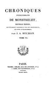 Collection des chroniques nationales français: écrites en langue vulgaire du treizième au seizième siècle, Volume31