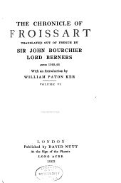 The Chronicle of Froissart: Volume 6
