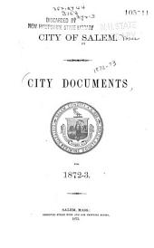 Address of the Mayor Upon the Organization of the City Government ... with Reports of Several Departments for the Preceding Municipal Year