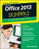Office 2013 ELearning Kit For Dummies PDF