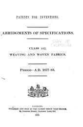 Patents for Inventions. Abridgments of Specifications: Volume 28