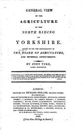Agricultural Surveys: Yorkshire, North-Riding (1800)