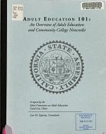 Adult Education 101