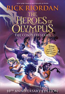 The Heroes of Olympus Paperback Boxed Set  10th Anniversary Edition