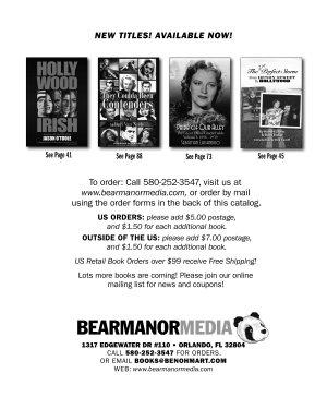 2019 Winter Catalog BearManor Media