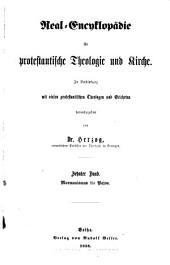 Real-encyklopädie für protestantische Theologie und Kirche: In Verbindung mit vielen protestantischen Theologen und Gelehrten