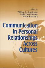Communication in Personal Relationships Across Cultures