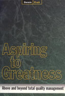Aspiring to Greatness PDF