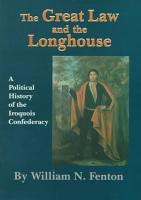 The Great Law and the Longhouse PDF