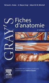 Gray's Fiches d'anatomie: Édition 2