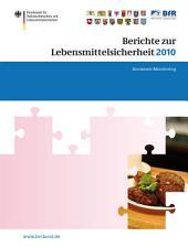 Berichte zur Lebensmittelsicherheit 2010: Zoonosen-Monitoring