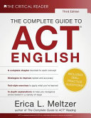 The Complete Guide to ACT English  3rd Edition Book