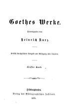 Goethes Werke PDF