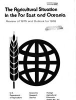 The Agricultural Situation in the Far East and Oceania PDF