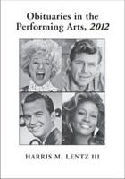 Obituaries in the Performing Arts  2012 PDF