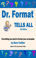 Dr  Format Tells All  4th Edition Book