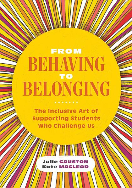 Download From Behaving to Belonging Book