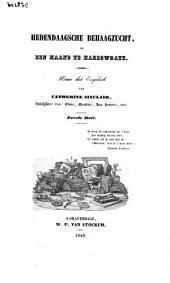 Hedendaagsche behaagzucht, of Een maand te Harrowgate: Volume 1
