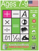 Grade 3  Ages 7 9 Math  Reading  Writing Practice Workbook   Vol1  3000 Questions PDF