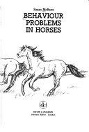 Behaviour Problems in Horses