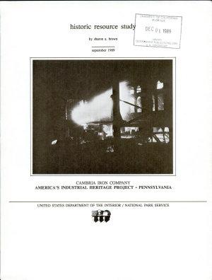 Cambria Iron Company PDF