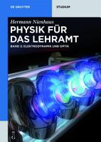 Elektrodynamik und Optik PDF