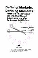 Defining Markets  Defining Moments PDF