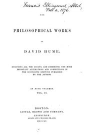 Philosophical Works: Volume 2