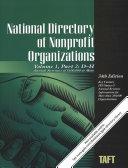 National Directory of Nonprofit Organizations  10 Volume Set  A Comprehensive Guide Providing Profiles   Procedures for Nonprofit Organizations PDF