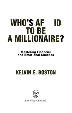 Who s Afraid To Be a Millionaire  PDF
