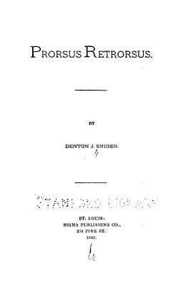 Prorsus Retrorsus