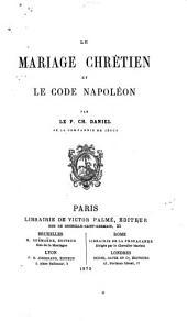 Le mariage chrétien et le code Napoléon