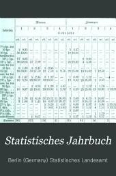 Statistisches Jahrbuch: Bände 1-3
