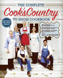 The Complete Cook s Country TV Show Cookbook Book