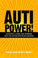 AutiPower  Successful Living and Working with an Autism Spectrum Disorder PDF