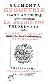 Elementa geometriae planae ac solidae